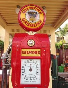 Gilmore Gasoline Pump Photo by Heather Paul)