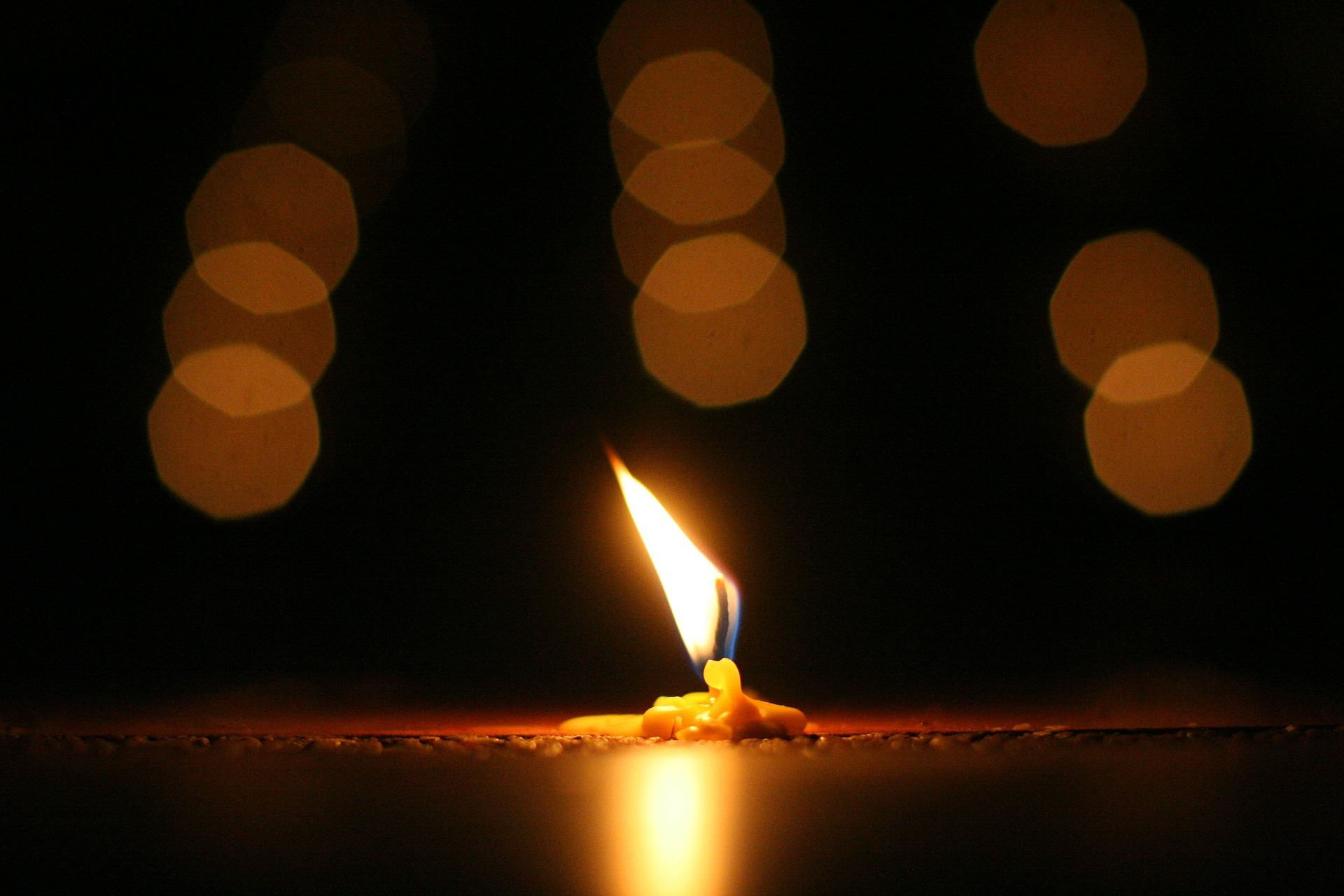 candle, candles, wax, melted, burning candle, flame, petroleum product, industrial outpost
