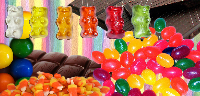 candy, petroleum, candy collage, halloween, halloween candy