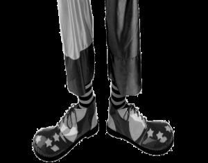 clown, clown shoes
