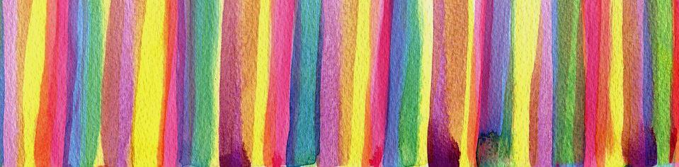 dye, color, watercolor, rainbow, banner, food coloring, food dye, artificial food coloring