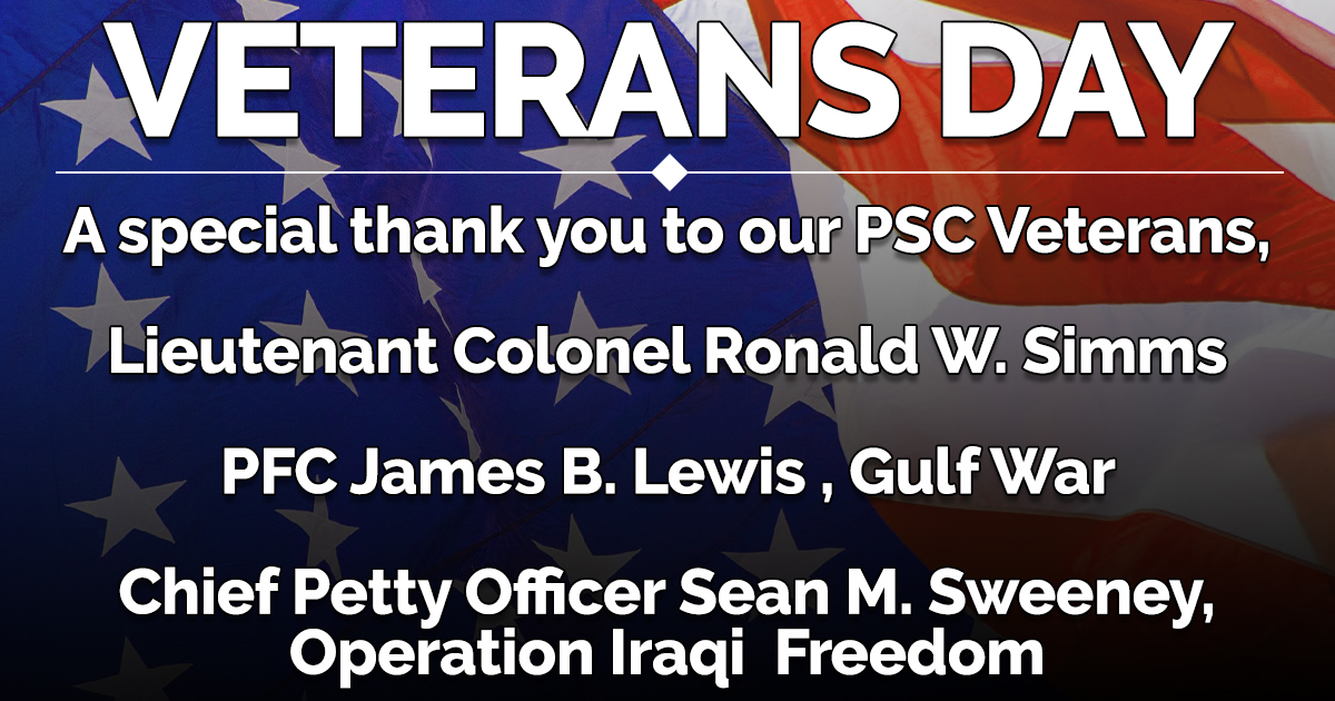 veterans day, psc