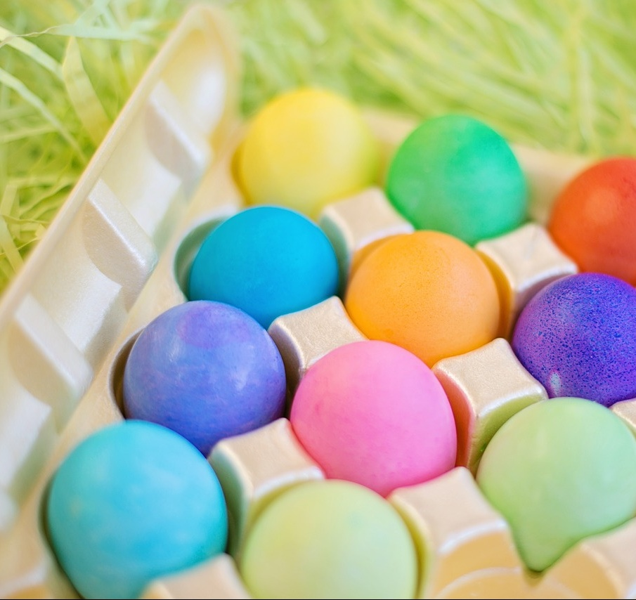 easter, easter eggs, food dye, food coloring, petroleum, petroleum easter