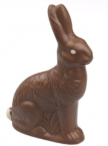 chocolate bunny, easter, easter candy, paraffin wax, petroleum easter, petroleum in candy