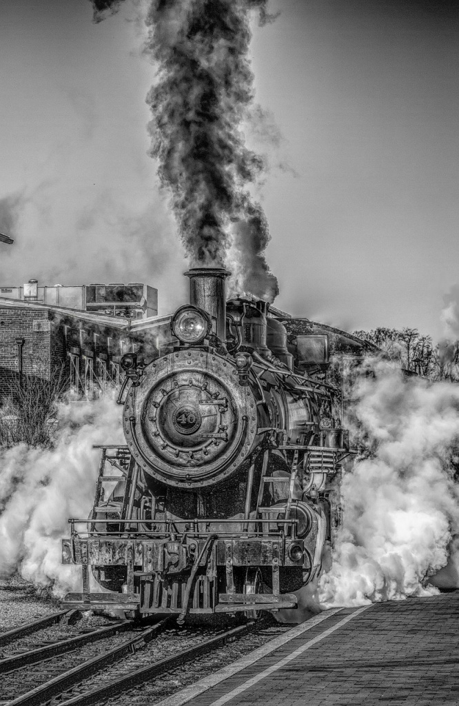 steam engine, steam locomotive, industrial revolution