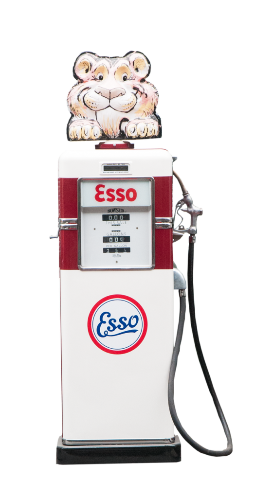 esso gas pump the history of self-serve gas stations